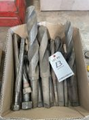 LOT OF MISC LARGE STEP DRILLS