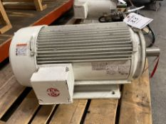 EMERSON S693 25 HP ELECTRIC MOTOR