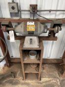 (1) BALDOR 3/4 HP DUAL WHEEL BUFFER/GRINDER