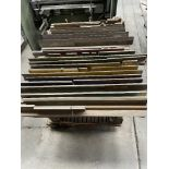 (LOT) MISC PRESS BRAKE DIES WITH CART