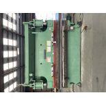 "(1) Cincinnati 175CB Press brake- 175 ton cap, 10' bed, 10"" stroke, 8"" throat depth, 17"" open"