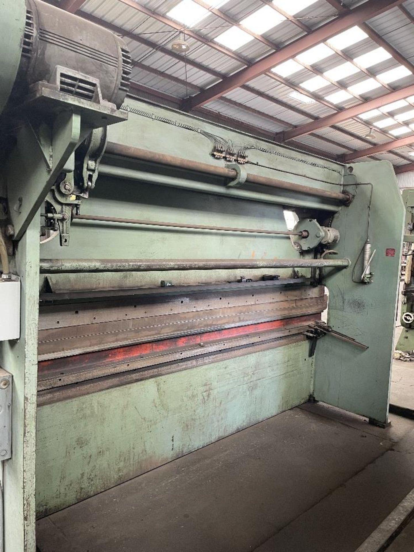 """(1) Verson Press Brake- 10' brake, 65 ton cap, 3"""" stroke, 12"""" shut height, s/n- 16783-20-1065 - Image 2 of 2"""