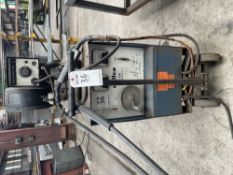 (1) MILLER CP-300 WIRE FEED WELDER WITH MILLERMATIC 30-E WIRE FEED- S/N- JC598224