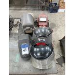 (LOT) MISC WELDING AND SAFETY MASKS