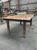 (1) 4'x6' WELDING TABLE