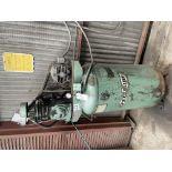 (1) SPEEDAIRE 3Z745 COMPRESSOR- SINGLE STAGE 5 HP MOTOR, 80 GALLON TANK, S/N- N/A