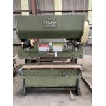 (1) Chicago 56-a-sfec press brake- 30 ton cap, 14 ga cap, 6' brake s/n- l-10442
