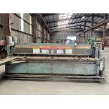 "(1) Wysong 1010-RD Shear- 10'x10 gauge cap, 60 spm, 24"" back gauge, s/n- PR2-735"
