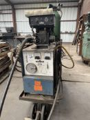 (1) MILLER CP-300 WIRE FEED WELDER WITH MILLERMATIC-S-54E WIRE FEEDER, S/N- JC626057