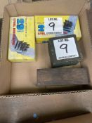(LOT) 2 DRILL INDEXES, 2 NUMBER & LETTER PUNCH SETS