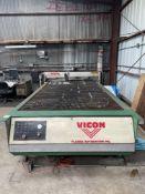 (1) Vicon CNC Plasma Cutter- dual twin drive, dell optiplex 7020 cpu,hypertherm max 100, speedaire