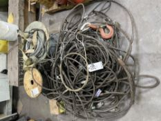Lot of misc cable & cable slings