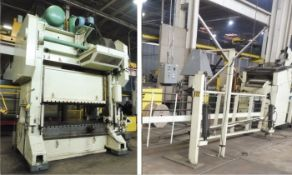 2002 BLOW STRAIGHT SIDE PRESS AND MECON SERVO FEED LINE