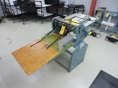 """PERF-A-MATIC Model M19 Electric Slitter, 20"""" Capacity, S/N: 1612"""