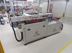 "2017 ATMA High Precision Screen Printing Press, Model ATMAOE 710, 220 Volt, Screen Table 49"" x"