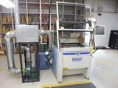 "2007 SDI CO2 Laser Cutter, 27"" x 20"" Honeycomb Table, 60 Watt Capacity, Model Eureka 606 CNC w/SEI"