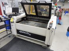 """2009 ADVANCED AUTOMATION CO2 Laser Cutter, 48"""" x 24"""" Honeycomb Table, CNC with Camera"""