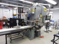 2013 SANGIACOMO Die Cutting Press, Variable Speed, Gap Framed Press, 50-Ton Capacity, 12-110 mm