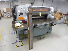 """KRAUSE WOHLENBERG 42"""" Capacity Paper Cutter, 600-240 Volt Transformer, w/Air Tables, Extra Knives"""
