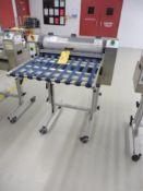 "SDI Variable Speed Bi-Directional Contact Sheet Cleaner, Model 24""-EC, 24"" Width Capacity, S/N: N/A"