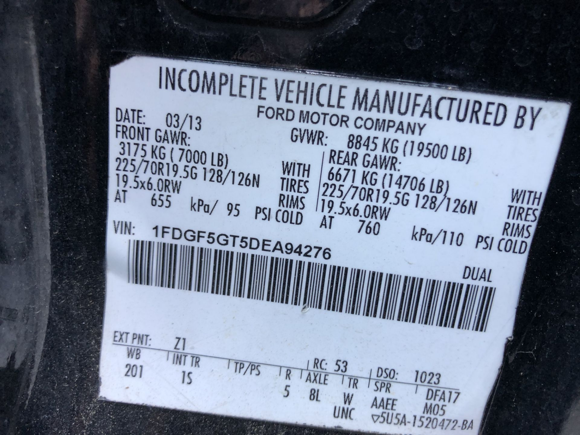 2013 Ford F550SD XL Grech Motors 33-Pass Shuttle Bus - Image 16 of 18