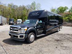 2013 Ford F550SD XL Grech Motors 33-Pass Shuttle Bus