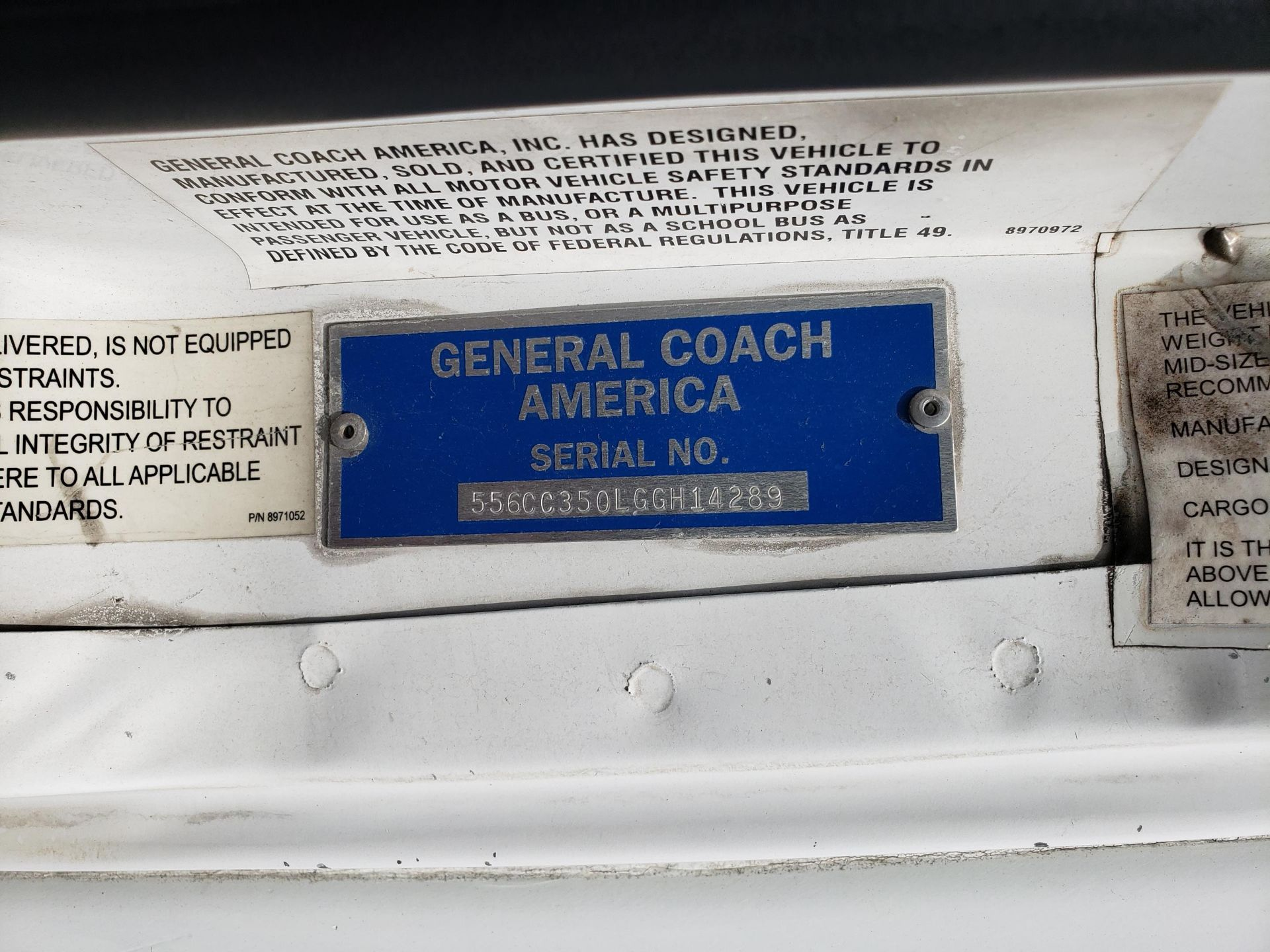 2006 Chevrolet C5500 30-Pass General Coach Champion Bus - Image 14 of 23