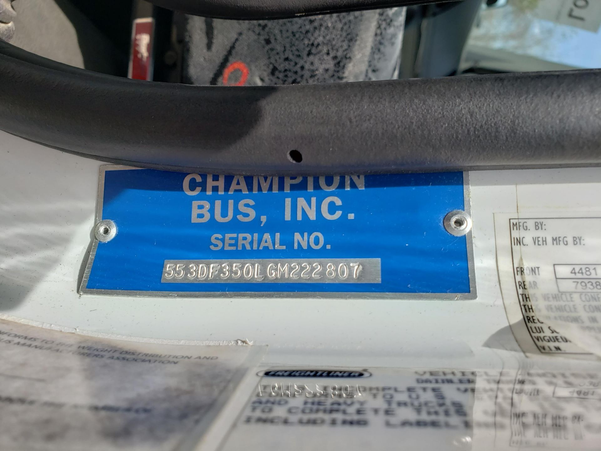 2013 Freightliner M2 106 33-Pass Champion Defender Shuttle Bus - Image 15 of 17