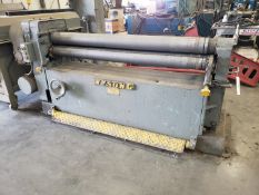 Wysong Model C-60 Pyramid Plate Bending Roll