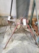 Ridgid Tri-Stand & Pexto Pedestal Shear