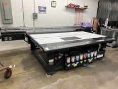 2014 Mimaki JFX200-2513 Wide Format Flatbed UV Color Inkjet Printer