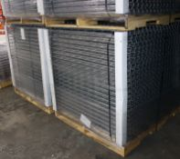 """NEW 120 PCS OF STANDARD 42"""" X 52"""" WIREDECK - 2250 LBS CAPACITY"""