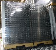 """NEW 40 PCS OF STANDARD 42"""" X 52"""" WIREDECK - 2250 LBS CAPACITY"""