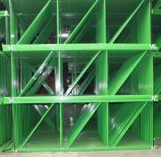 """NEW 30 PCS OF TEARDROP UPRIGHT. SIZE 12'H X 48""""D, 3""""X 3"""" GREEN"""