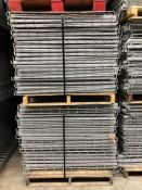 """USED 40 PCS OF LAY IN FLUSH 44"""" X 46"""" WIREDECK"""