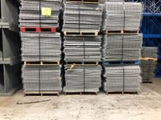 "USED 80 PCS OF LAY IN FLUSH 44"" X 46"" WIREDECK"