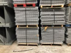 "USED 40 PCS OF LAY IN FLUSH 44"" X 46"" WIREDECK"