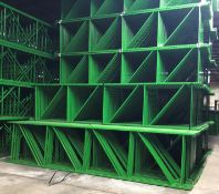 "NEW 30 PCS OF TEARDROP UPRIGHT. SIZE 16'H X 42""D, 3""X 1-5/8"" GREEN"
