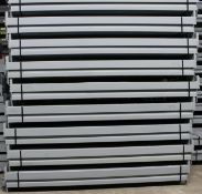"NEW 120 PCS OF 108"" X 4.5"" KEYSTONE BEAM- 5500 LBS CAPACITY/PAIR"