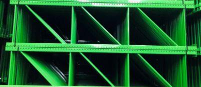 """NEW 15 PCS OF TEARDROP UPRIGHT. SIZE 12'H X 36""""D, 3""""X 3"""" GREEN"""