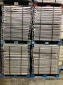 """USED 120 PCS OF STANDARD 36"""" X 46"""" WIREDECK"""