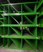 """NEW 15 PCS OF TEARDROP UPRIGHT. SIZE 16'H X 36""""D, 3""""X 3"""" GREEN"""