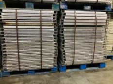 """USED 120 PCS OF STANDARD 36"""" X 52"""" WIREDECK"""
