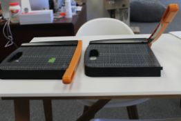 2 PCS OF FISKARS PAPER CUTTERS