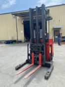 RAYMOND 3000 LBS CAPACITY STAND UP ELECTRIC FORKLIFT