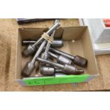 Group of paper drill bits, 5/15
