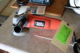 """Black & Decker angle grinder, 4-1/2"""", model 7750"""