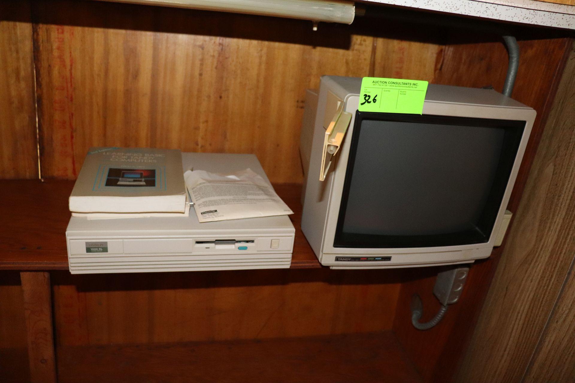 Tandy computer, 1000RL, with monitor, hard drive, keyboard, mouse, Tandy Dot Matrix printer model DM