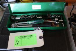 One socket wrench set