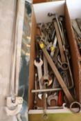 Group of wrenches